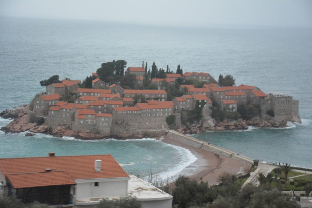 Budva Gezilecek Yerler - Sveti Stefan Adası