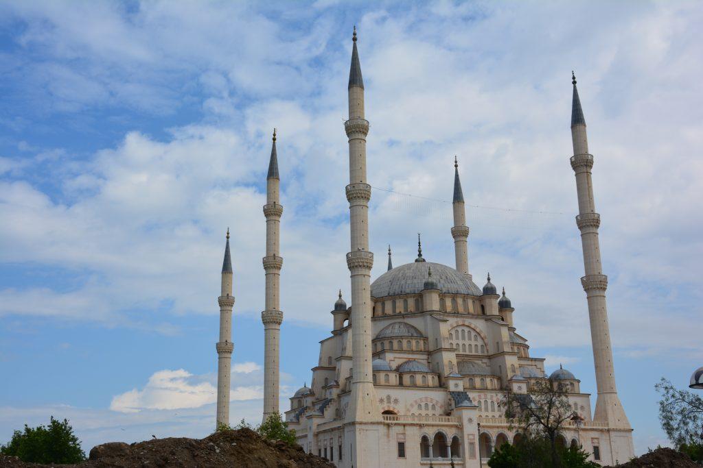 Adana gezilecek yerler - Sabancı merkez cami