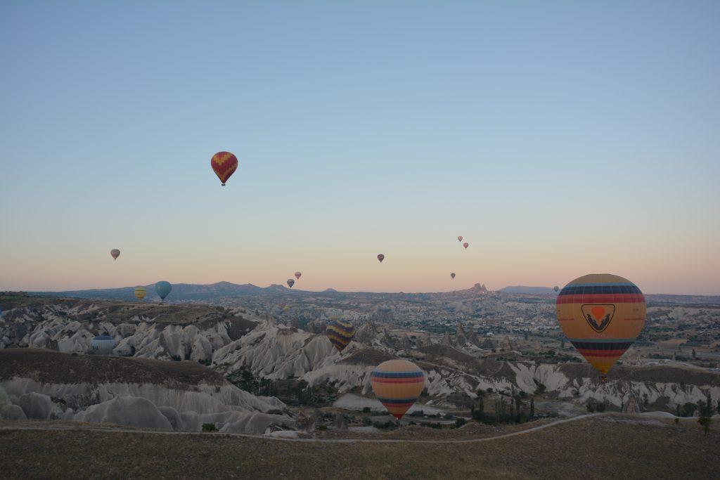 3 günlük Kapadokya turunda yapılacaklardan biri Balon turu