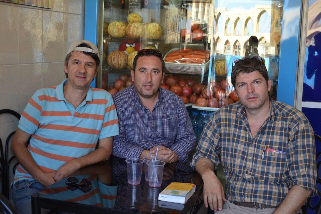 Almanya'da yaşayan Türk gezginler ile serinlerken