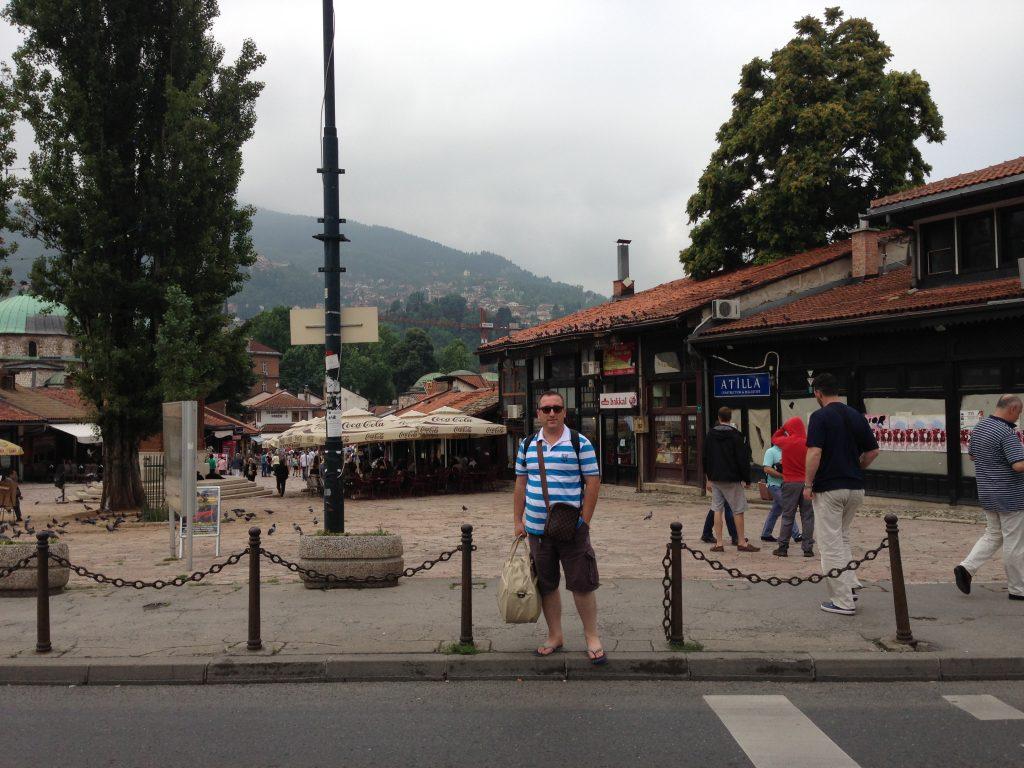 Saraybosna gezilecek yerler - Başçarşı
