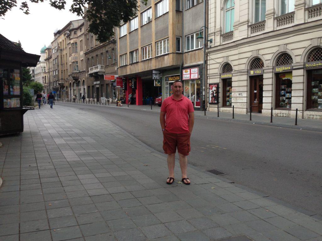 Saraybosna gezilecek yerler - Saraybosna caddeleri