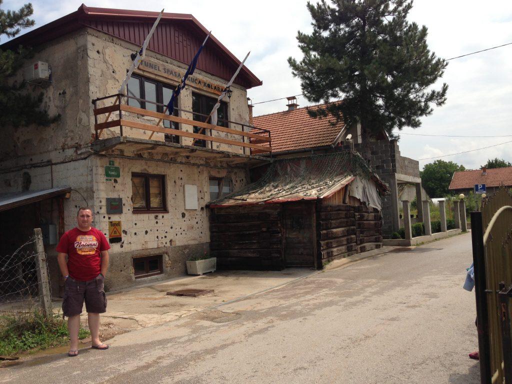 Saraybosna gezilecek yerler - Savaş Tüneli