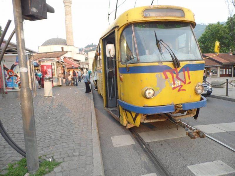 Saraybosna gezilecek yerler - Eski tranvay