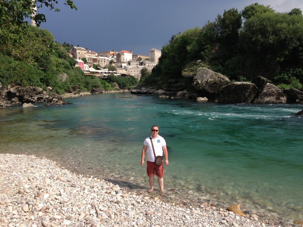 Neretva Nehri Mostar Bosna Hersek