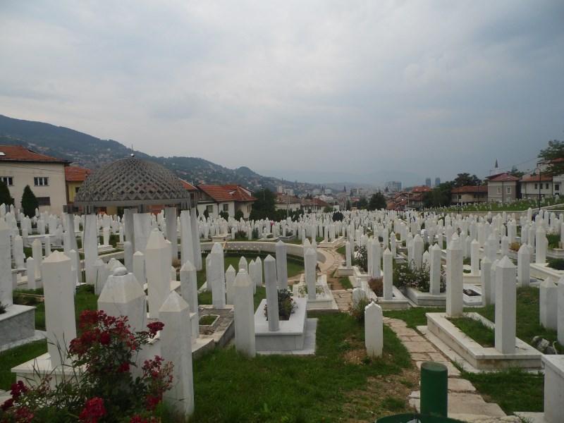 Saraybosna gezilecek yerler - Bosna mezarları