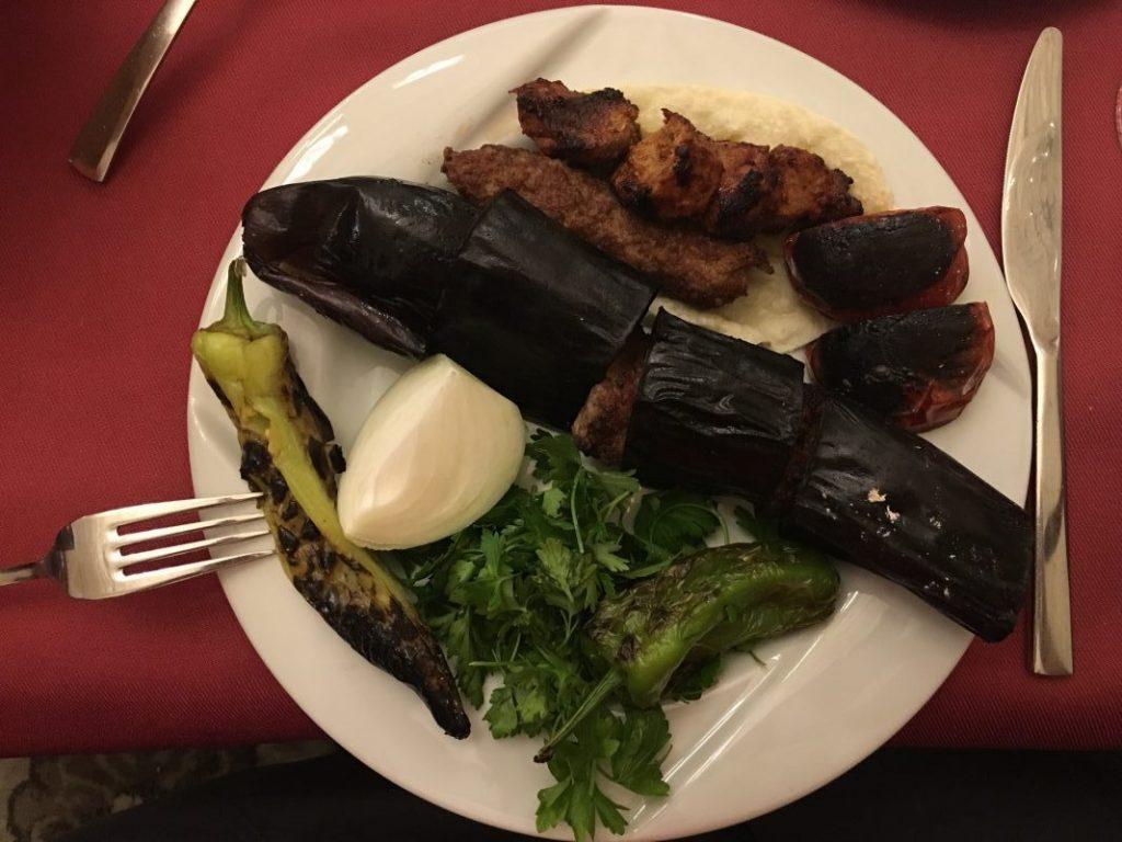 Şalıurfa'da ne yenir - patlıcan kebabı