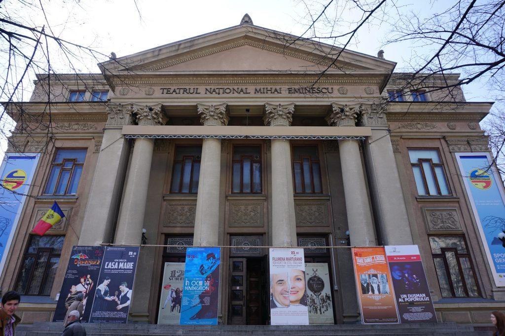 Kişinev gezilecek yerler - Tiyatro Binası