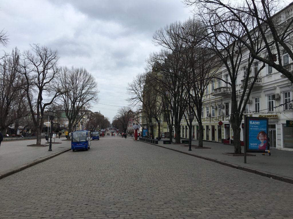 Odessa gezilecek yerler - Bu ülkenin geniş caddelerini seviyorum.
