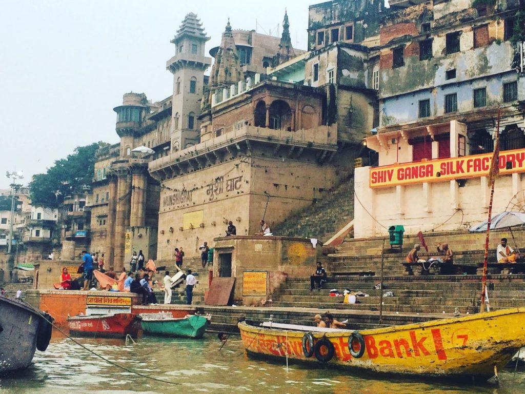 Hindistan Nepal Gezi - Varanasi - Hindistan / Fotoğraf desteği için Pustoo dünya Şükran'a teşekkürler