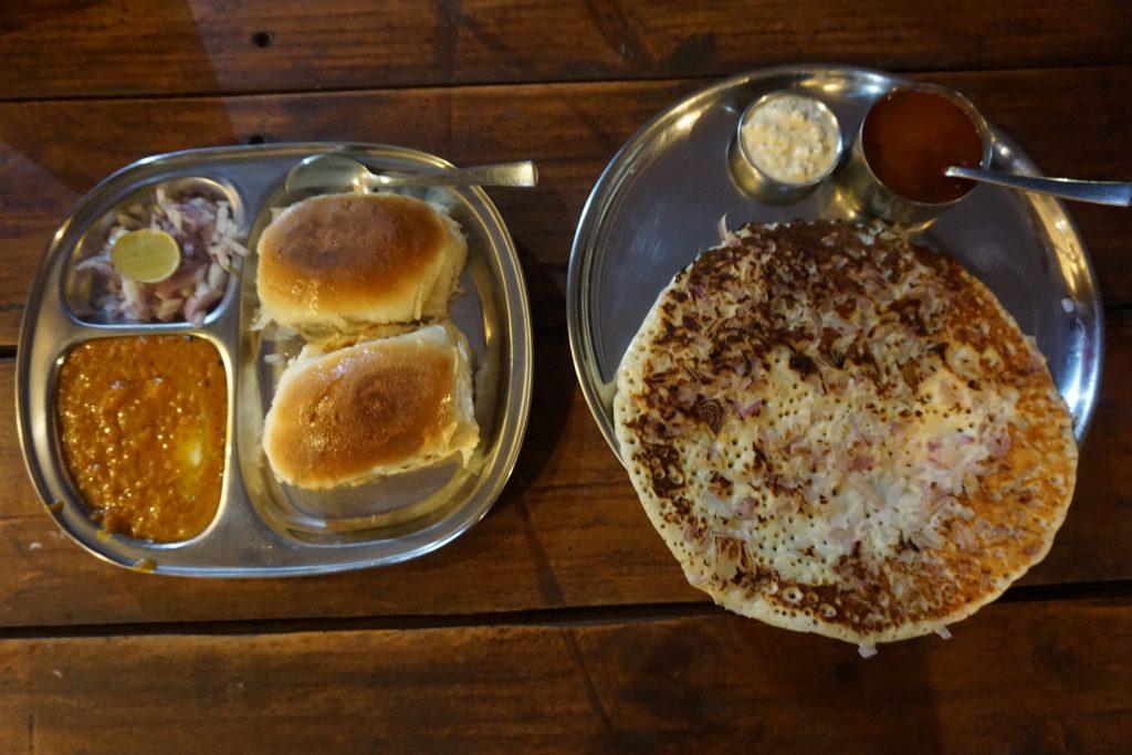 Goa gezilecek yerler - Pav Bhaji ve Uttaham yemeği