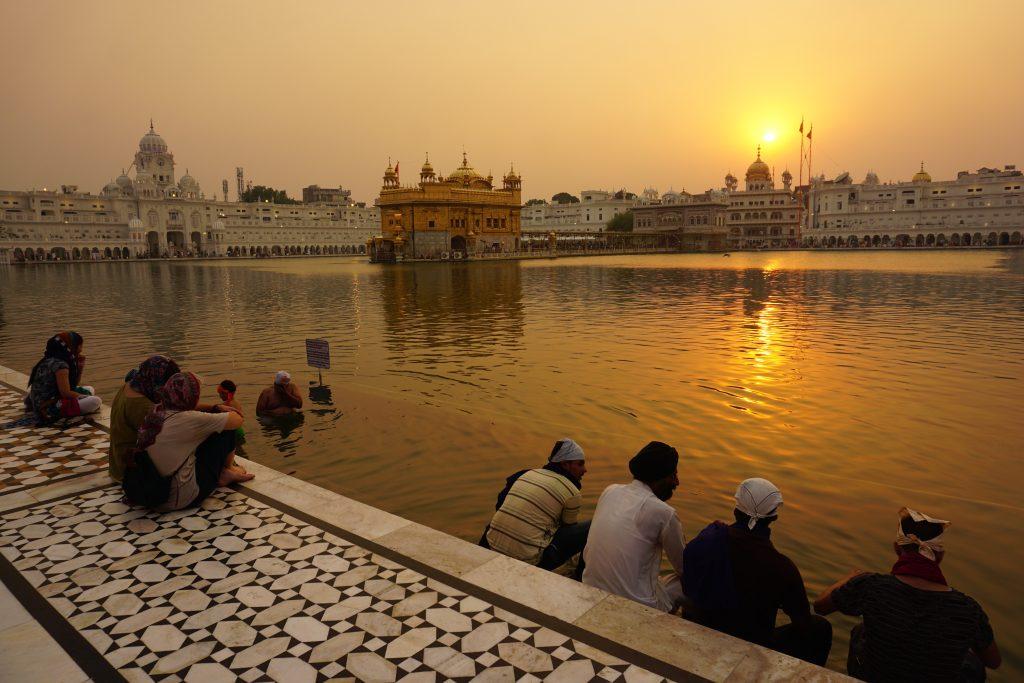 Amritsar gezilecek yerler - Altın tapınak
