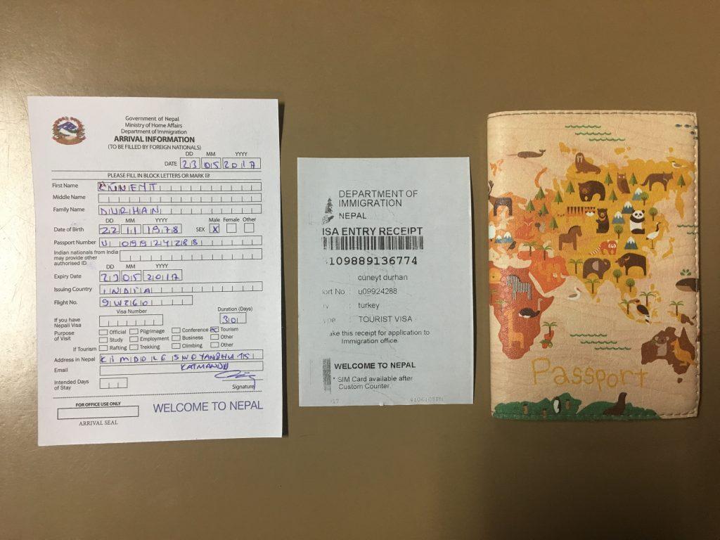 Nepal vizesi nasıl alınır - Alınması en fazla 30 dakika sürüyor