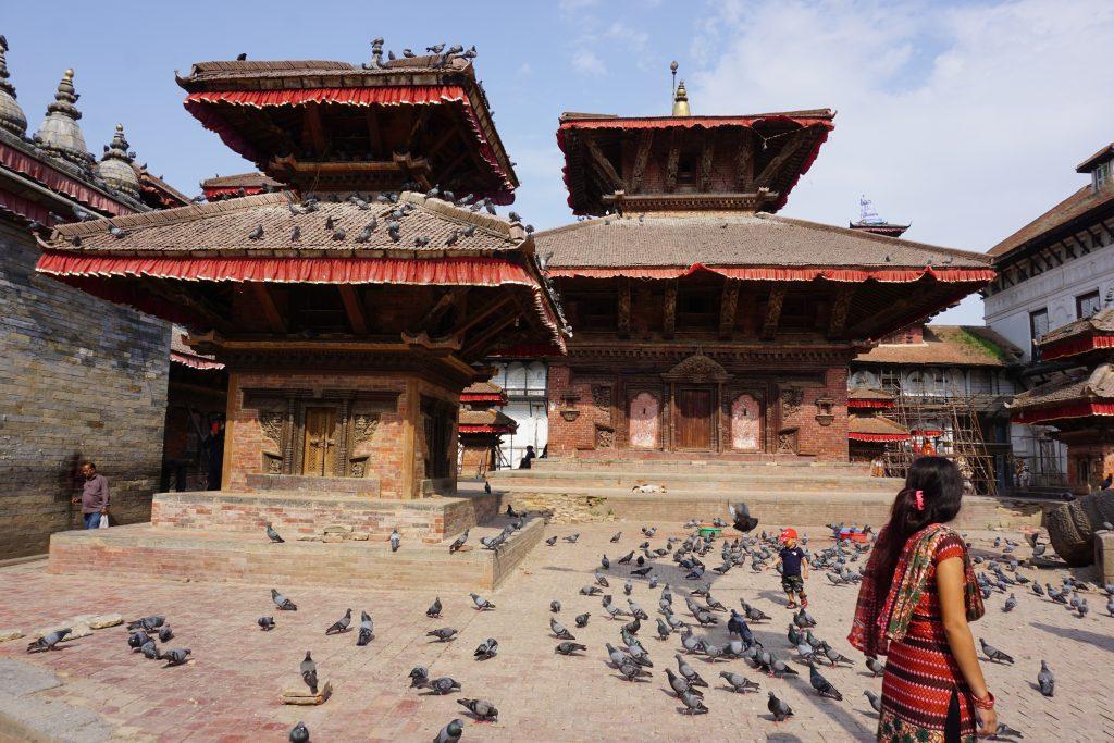 Katmandu gezilecek yerler - Tarihi bölge