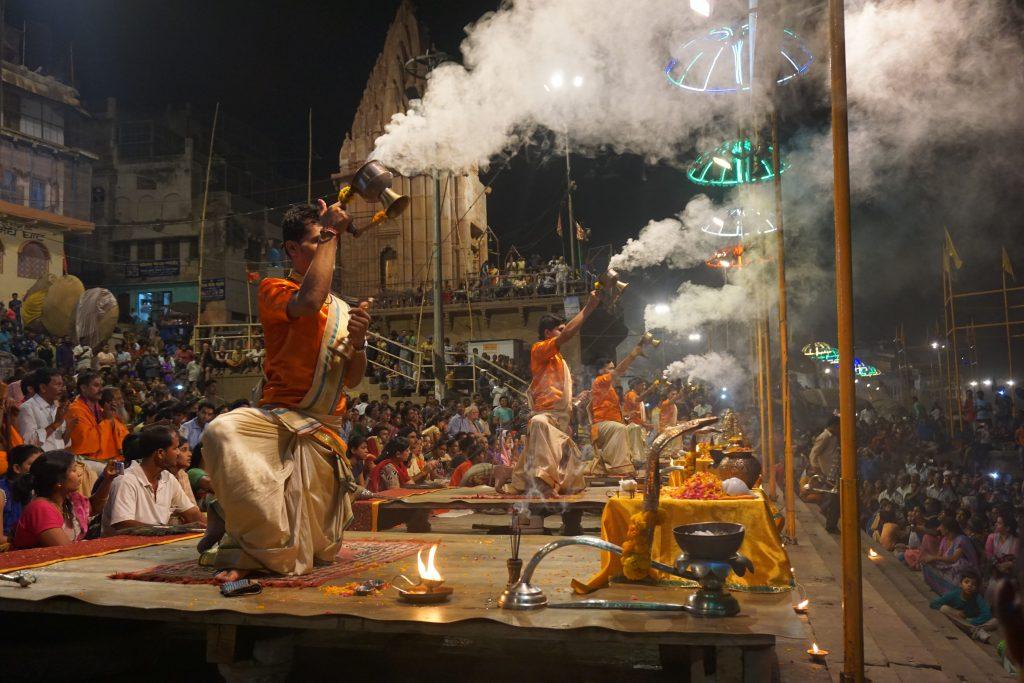 Varanasi Gezilecek Yerler - Aarti Törenleri
