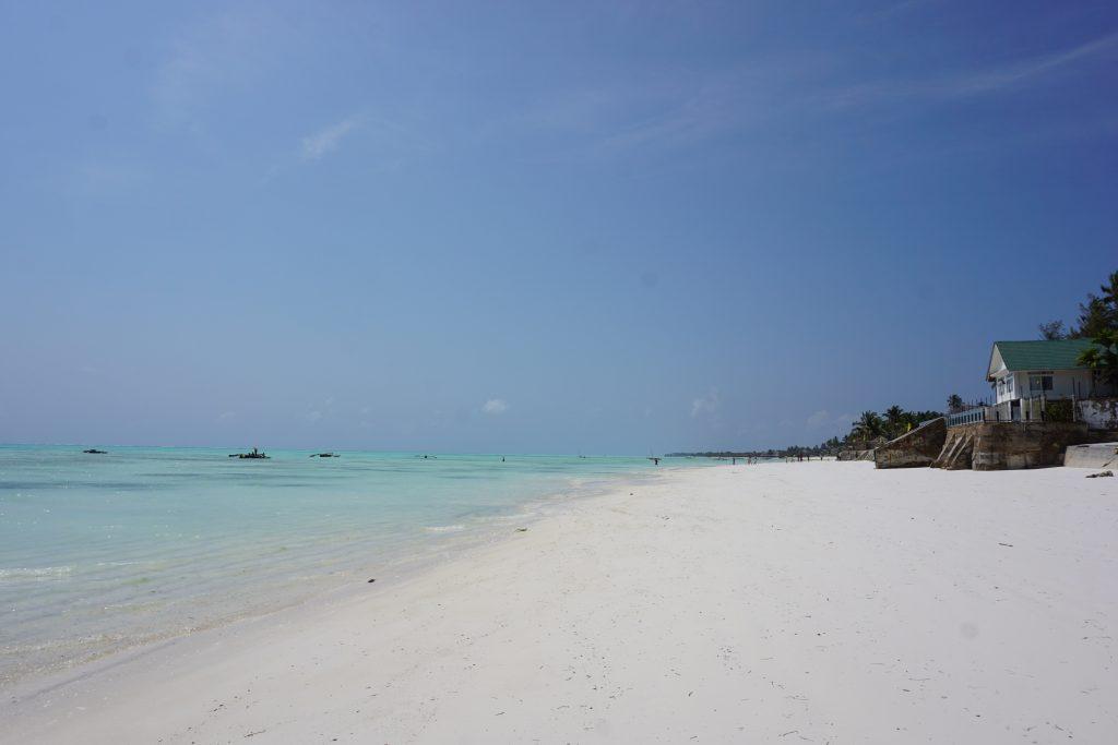 Zanzibar gezilecek yerler - Jambiani kumsalları