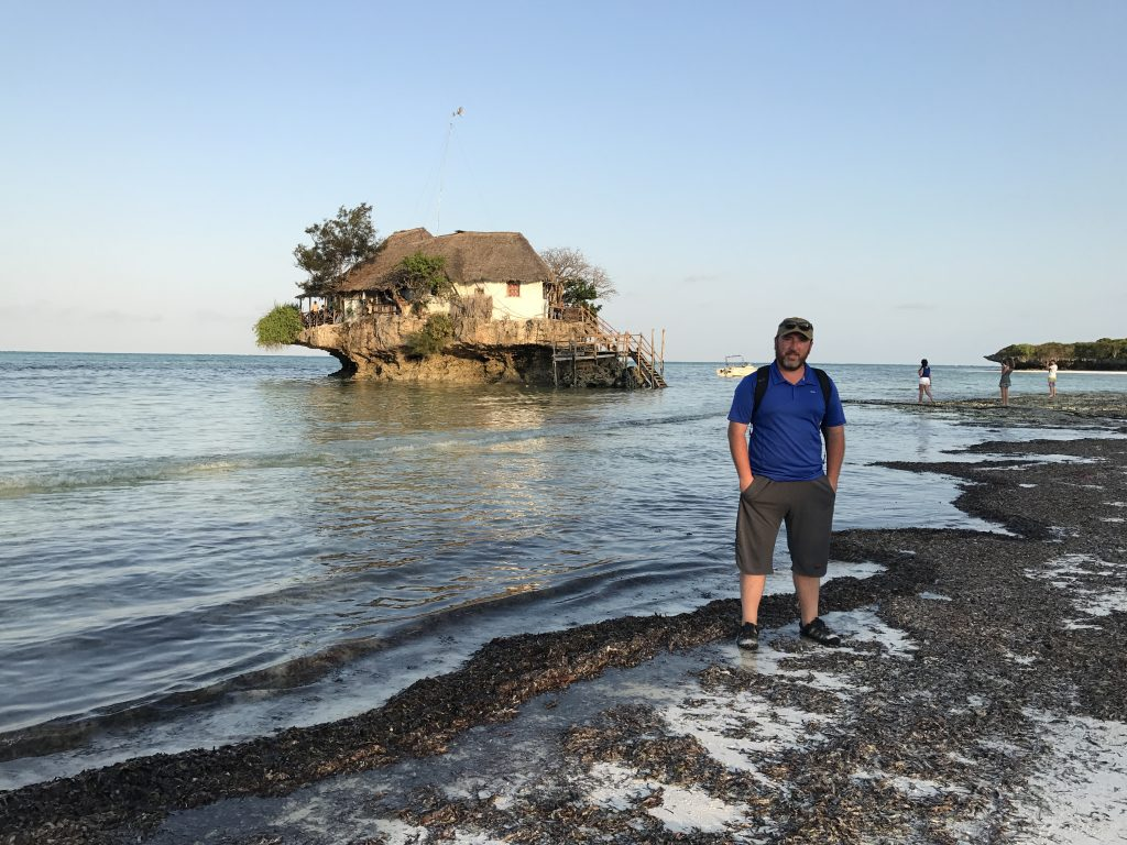 Zanzibar gezilecek yerler - The Rock restoran kafe