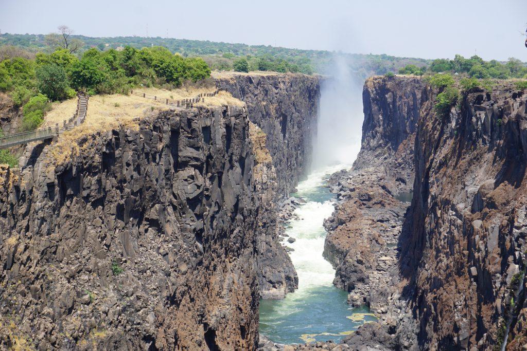 Afrika'da dikkat edilmesi gerekenler - Zambiya Viktoria şelaleleri
