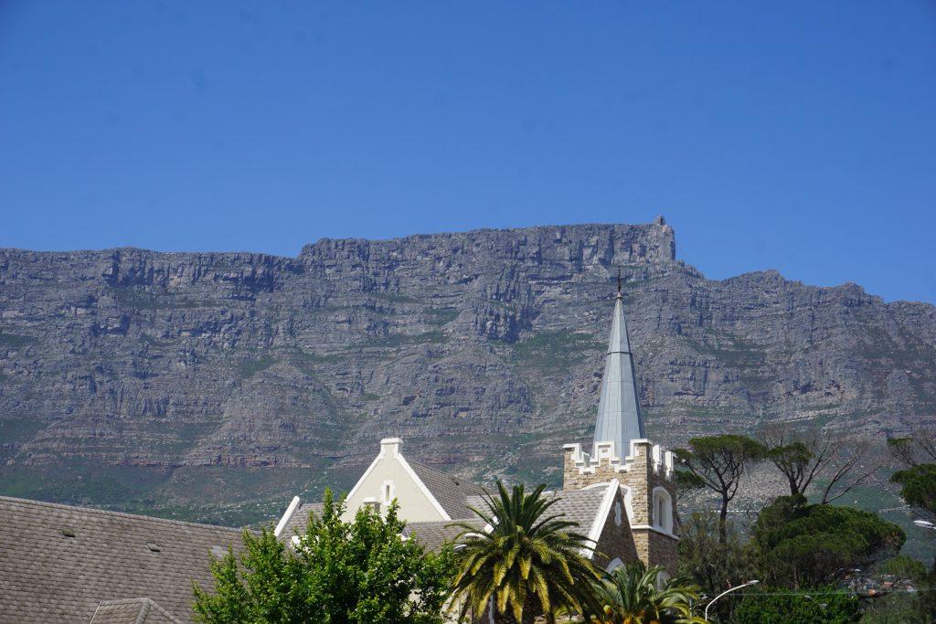 Cape Town gezilecek yerler - Masa dağı