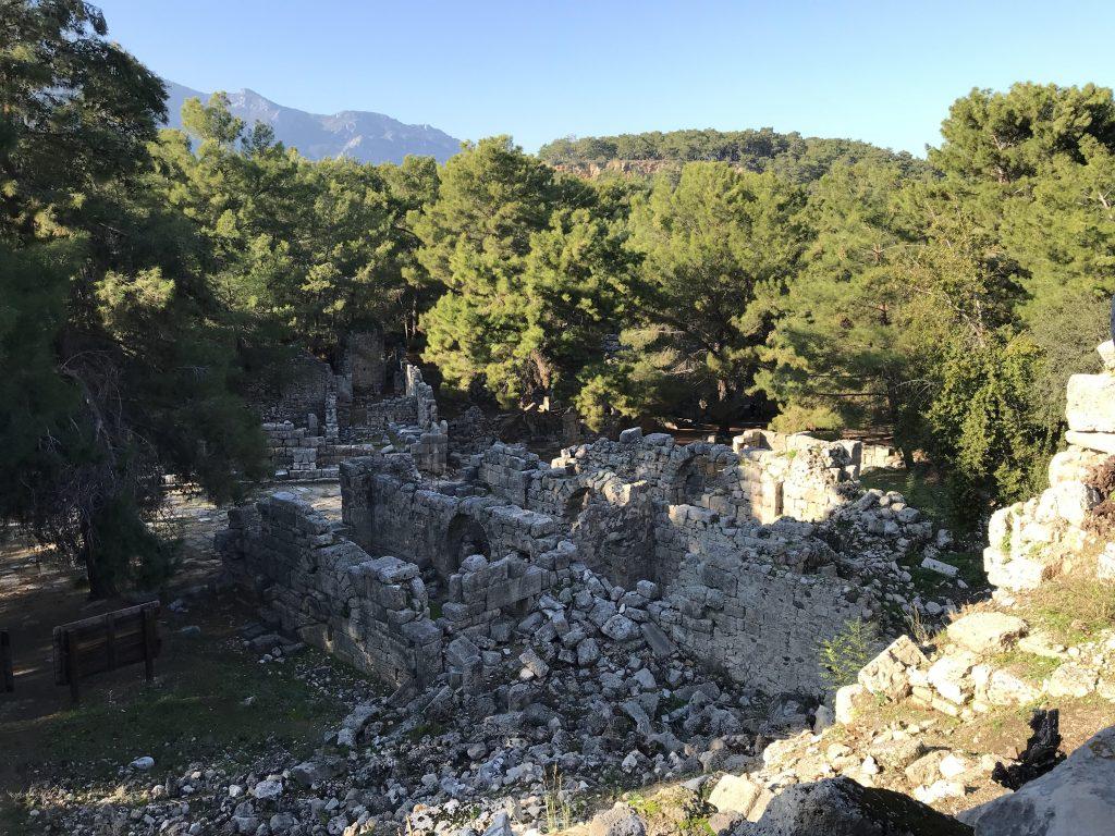 Akdeniz'de liman kenti Phaselis - Antalya'da görülebilecek yerlerin başında
