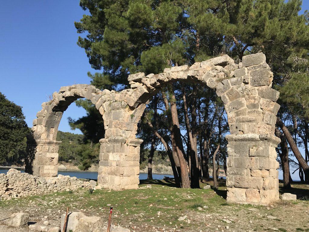 Akdeniz'de liman kenti Phaselis - Gördüğüm en özel yerlerden birisi