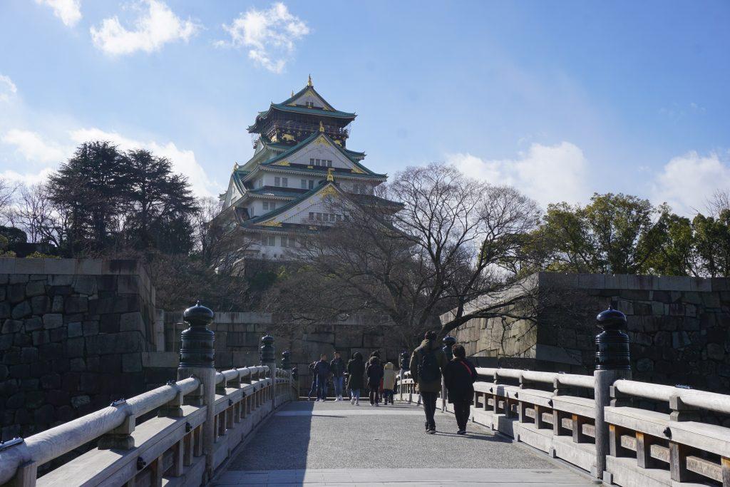 Japonya hakkında bilgiler - Osaka kalesi
