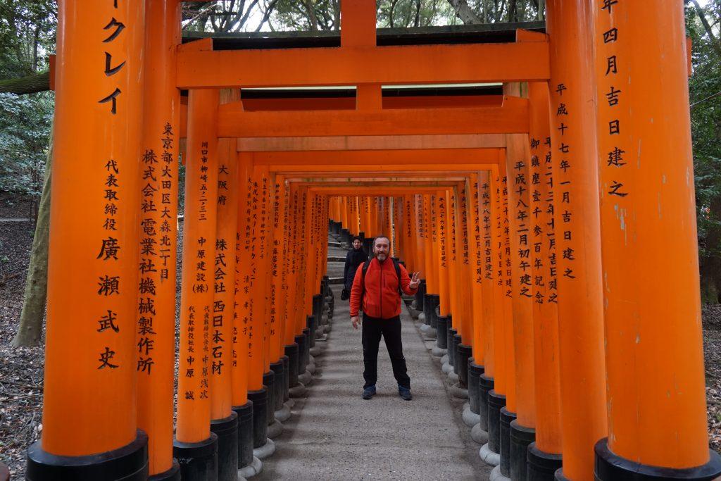 Japonya hakkında bilgiler - Kyoto İnari tapınağı