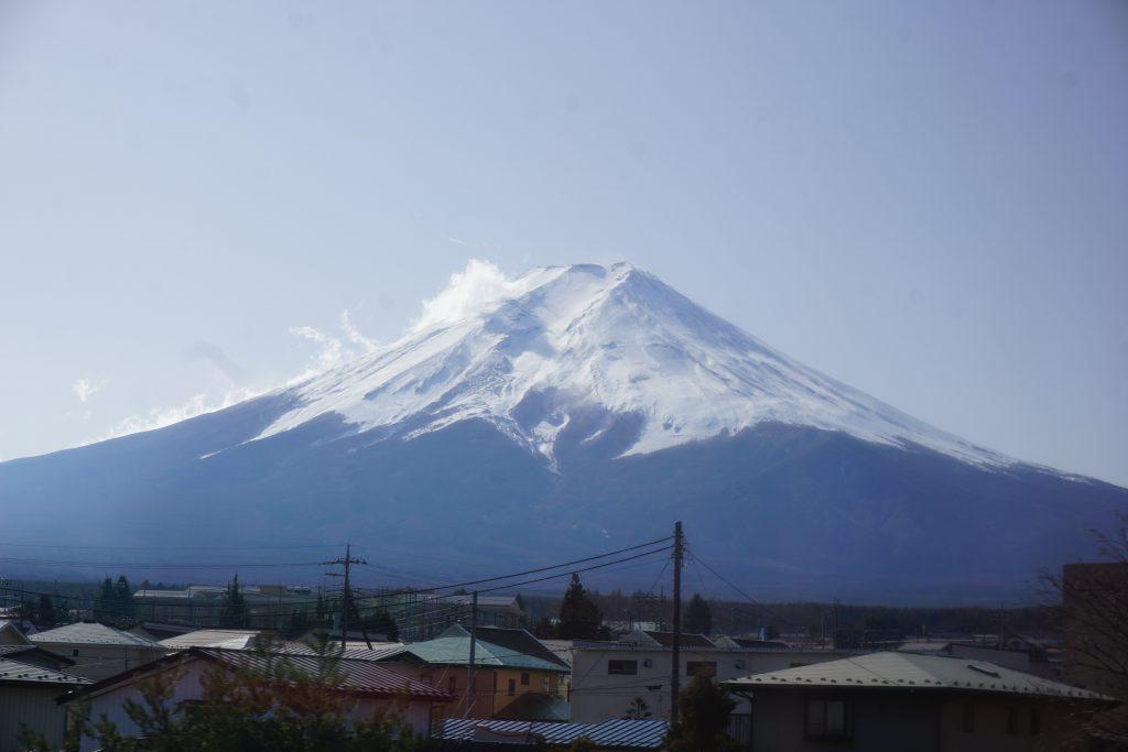 Japonya hakkında bilgiler - Muhteşem güzellikte Fuji dağı