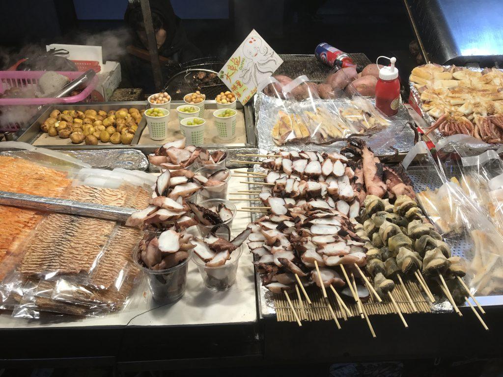 Güney Kore'de ne yenir - Deniz ürünleri lezzetliydi