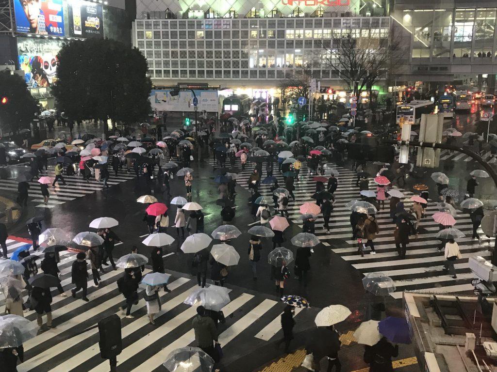 Japonya hakkında bilgiler - Dünyanın en kalabalık kavşağı Shibuya