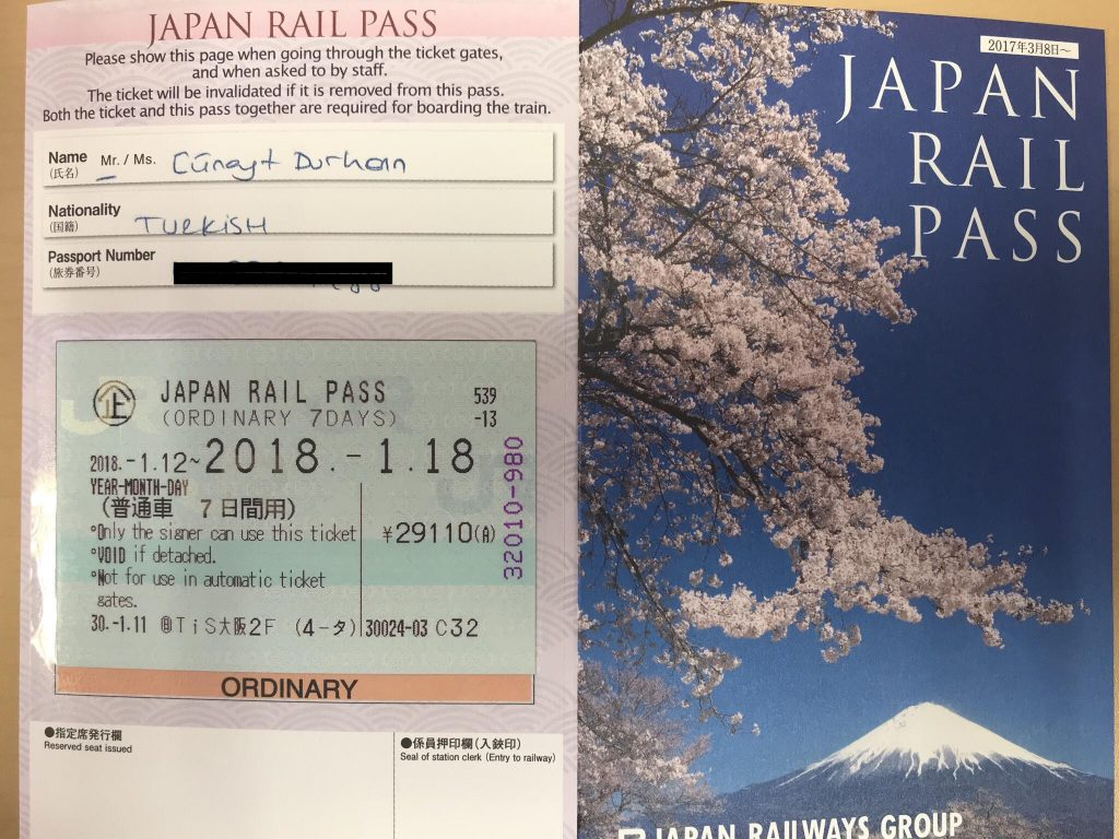 Japan Rail Pass Nasıl Alınır - Japonda'da ulaşım için gerekli bir bilet.