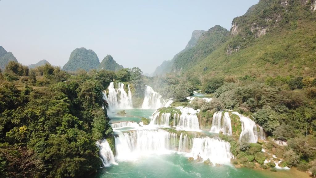 Vietnam'da gezilecek yerler - Ban Giac şelalesi