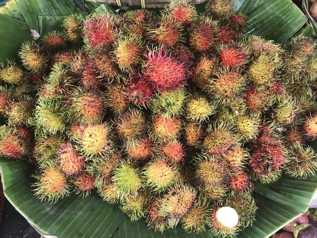 Asya meyveleri - Rambutan