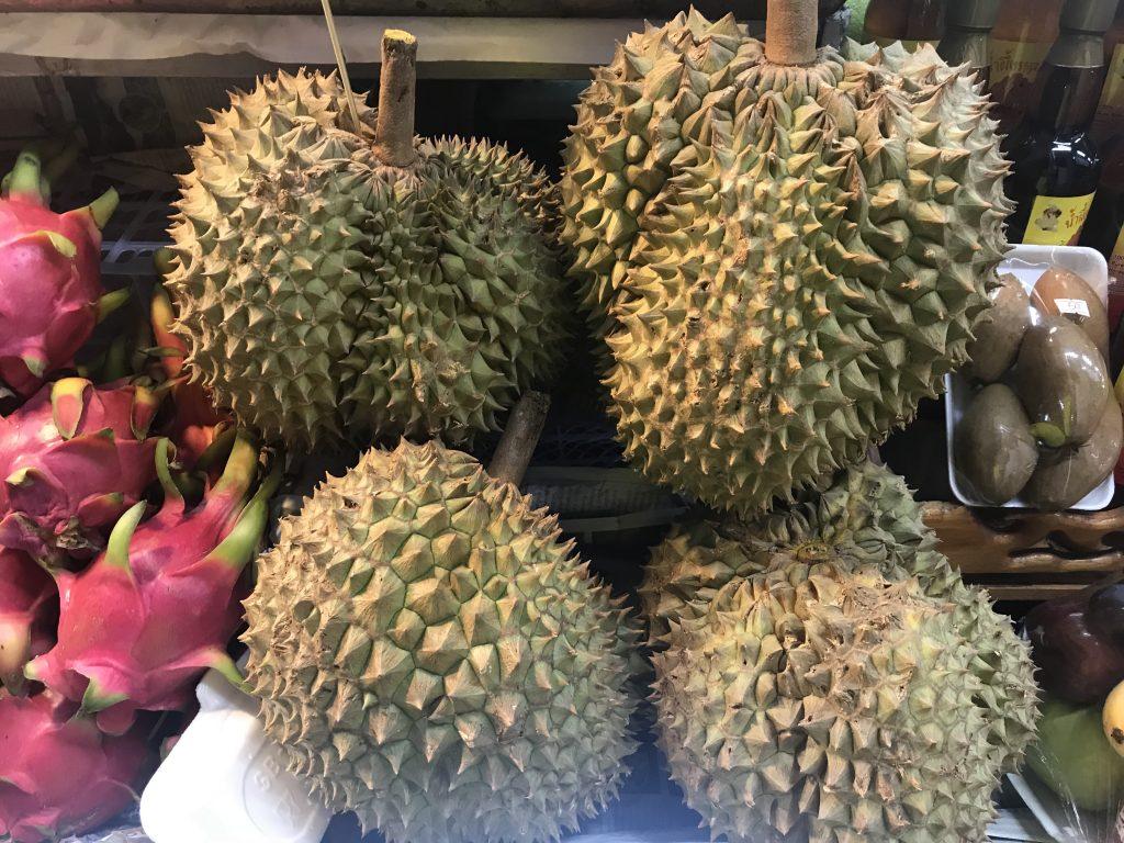 Asya meyveleri - Durian içi dışı bir değil dedikleri bu olsa gerek :)