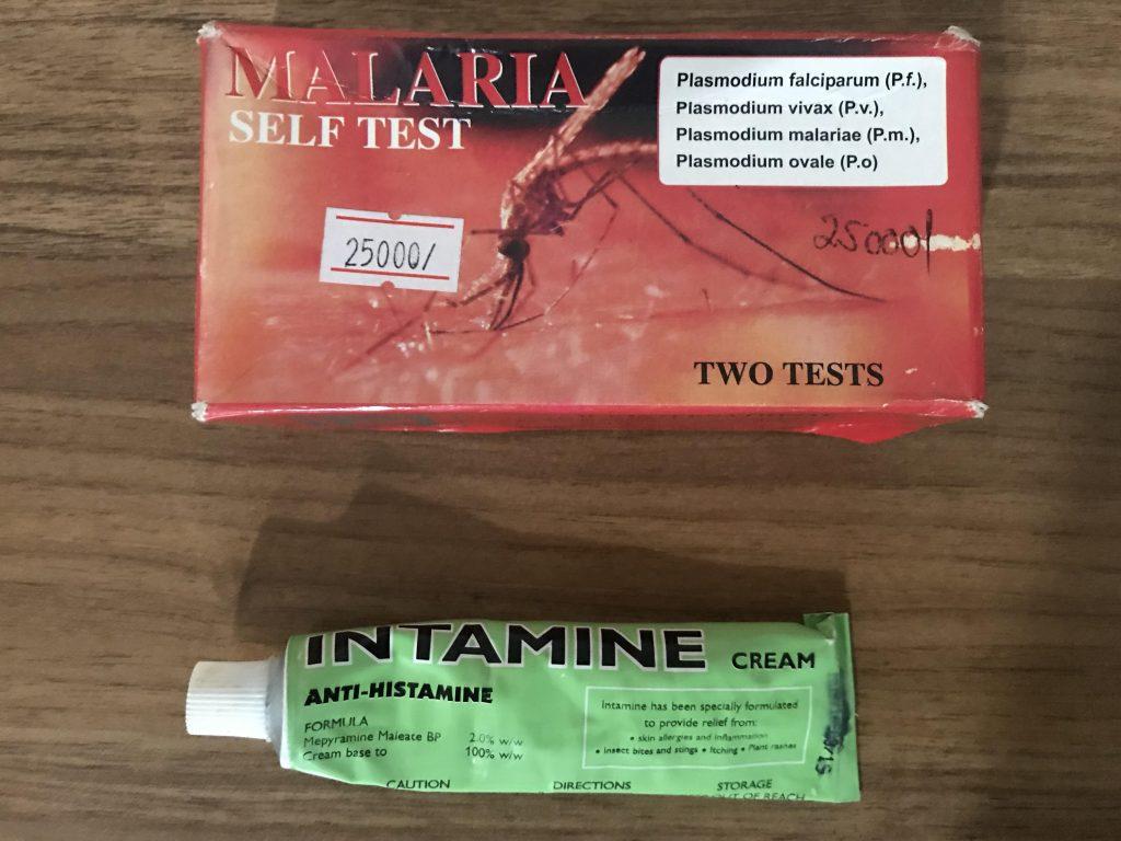 Seyahat sağlığı - Malarya testi sıtma için yapabileceğiniz bir test