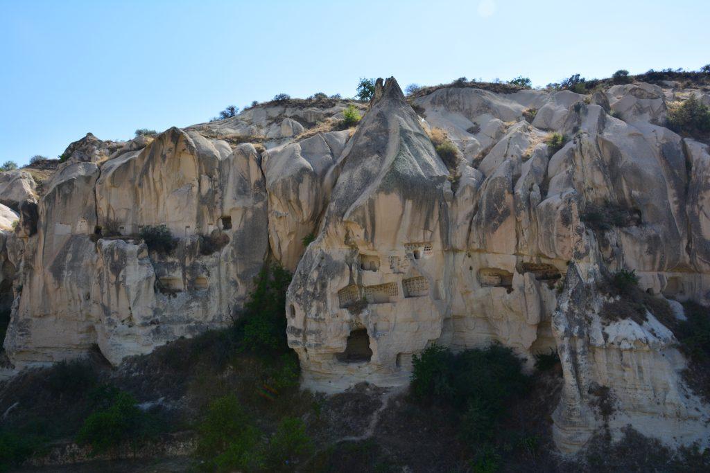 Göreme açık hava müzesi Kapadokya bölgesinin en özel yeri